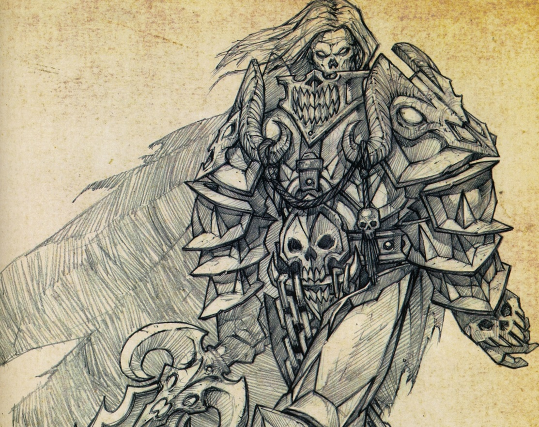 warcraft 1 concept art