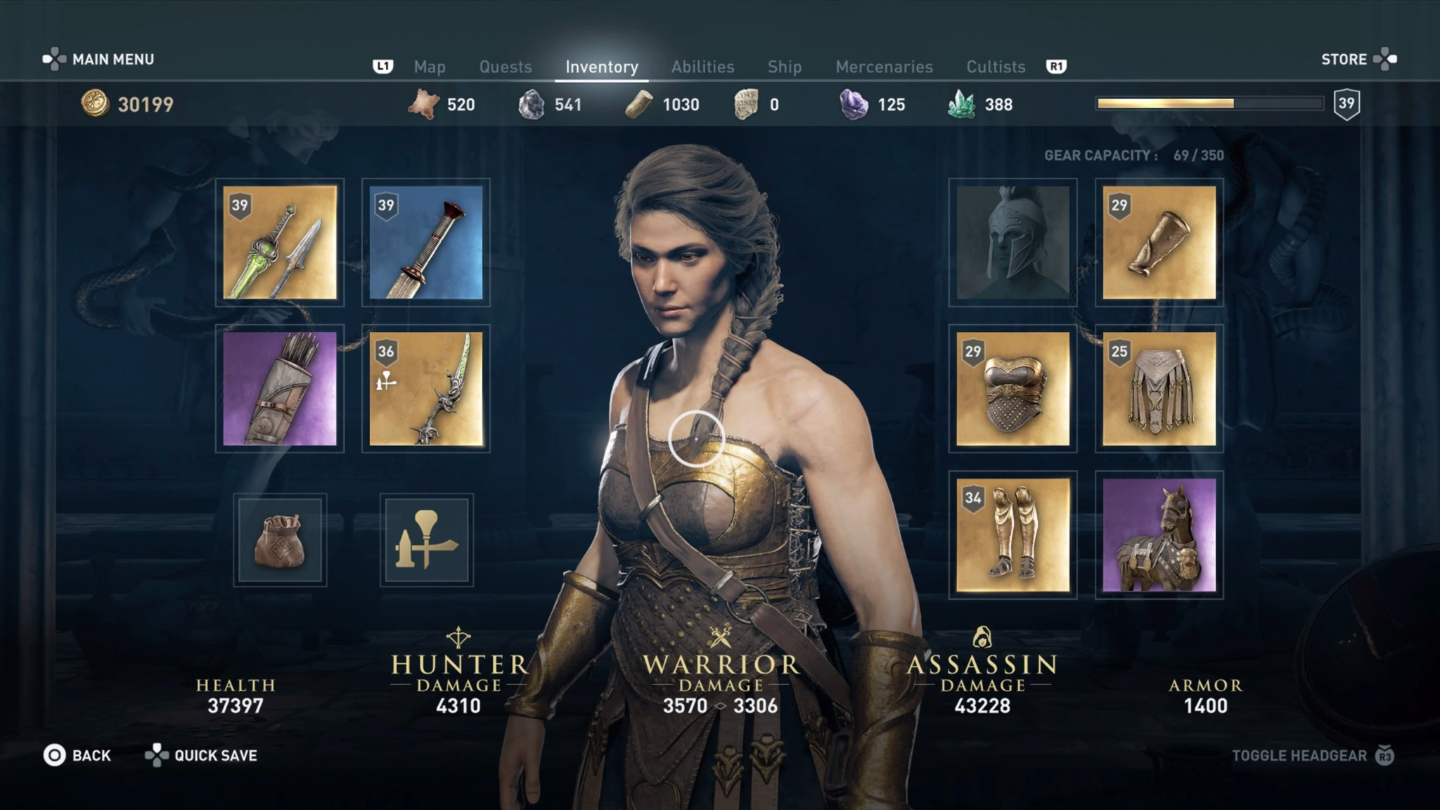 Assassin S Creed Odyssey How To Get The Legendary Amazon Armor