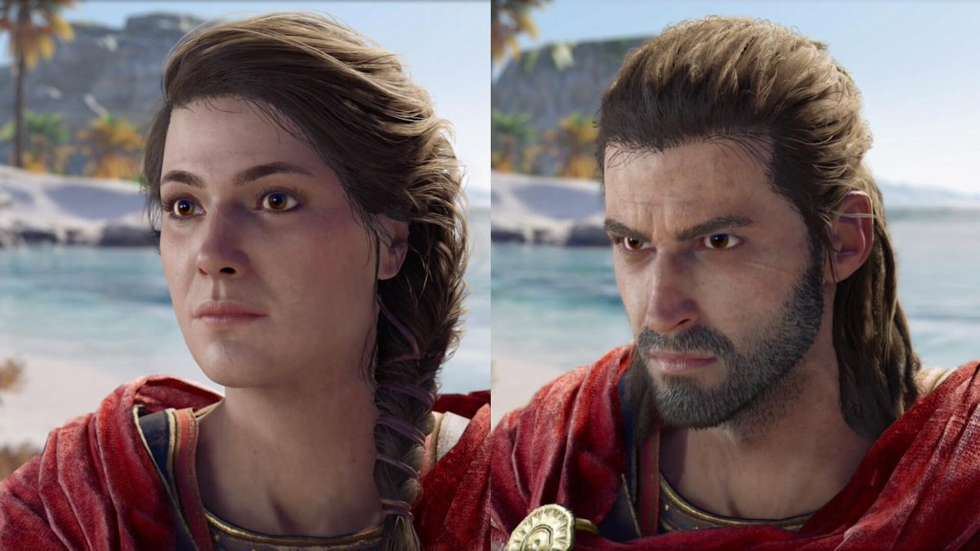 Two-Thirds of Assassin's Creed Odyssey Players Chose the Wrong Protagonist