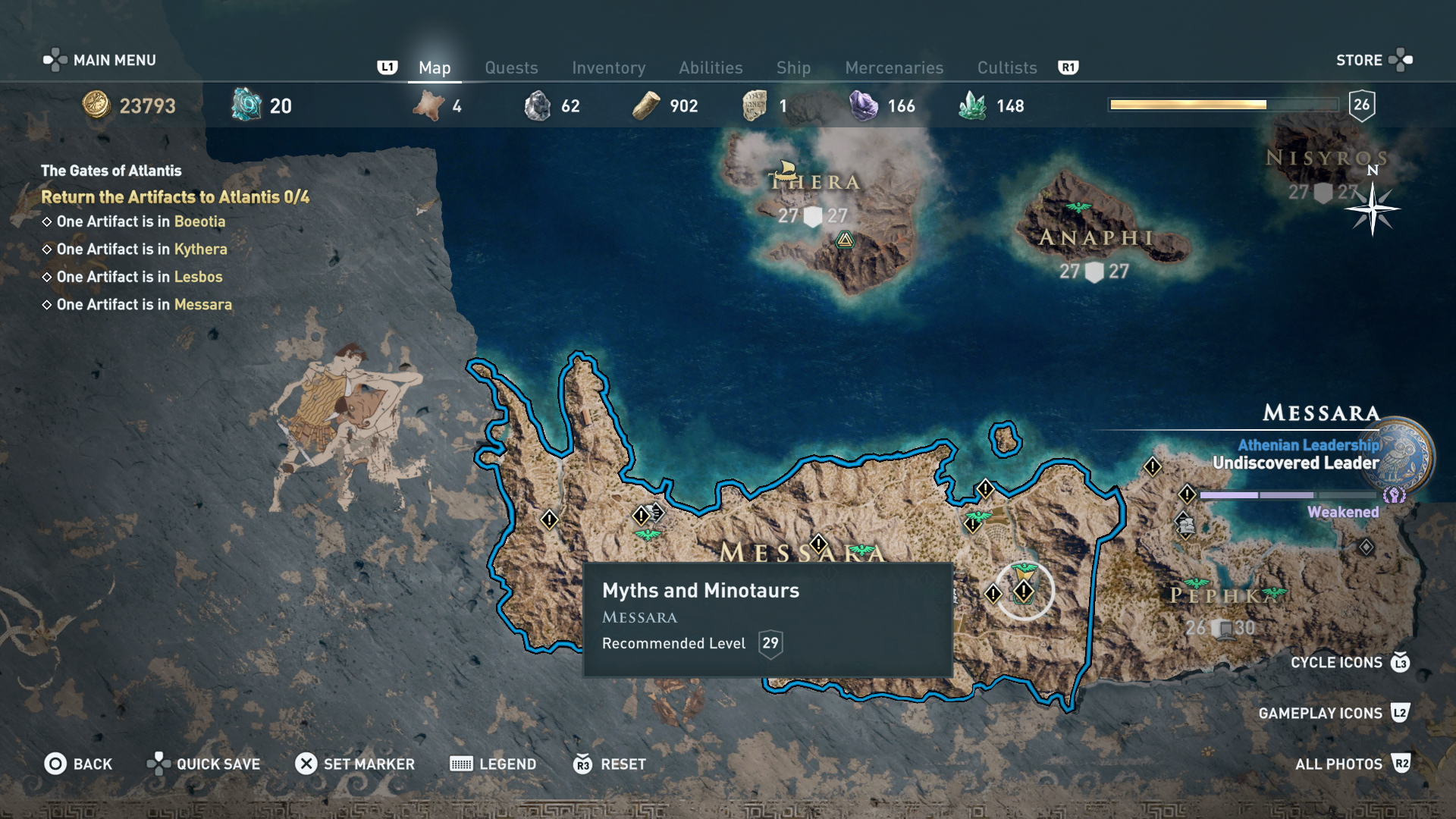 Assassin S Creed Odyssey Where To Find The Four Pieces Of