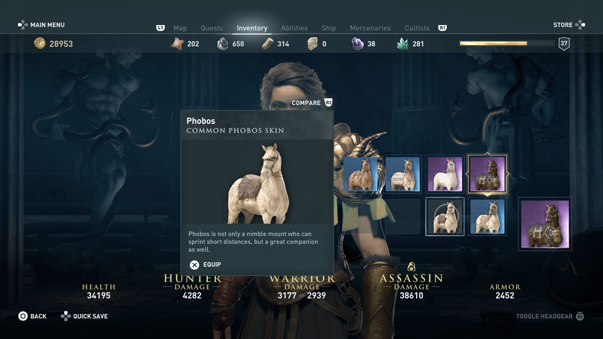 horse online how to get skins