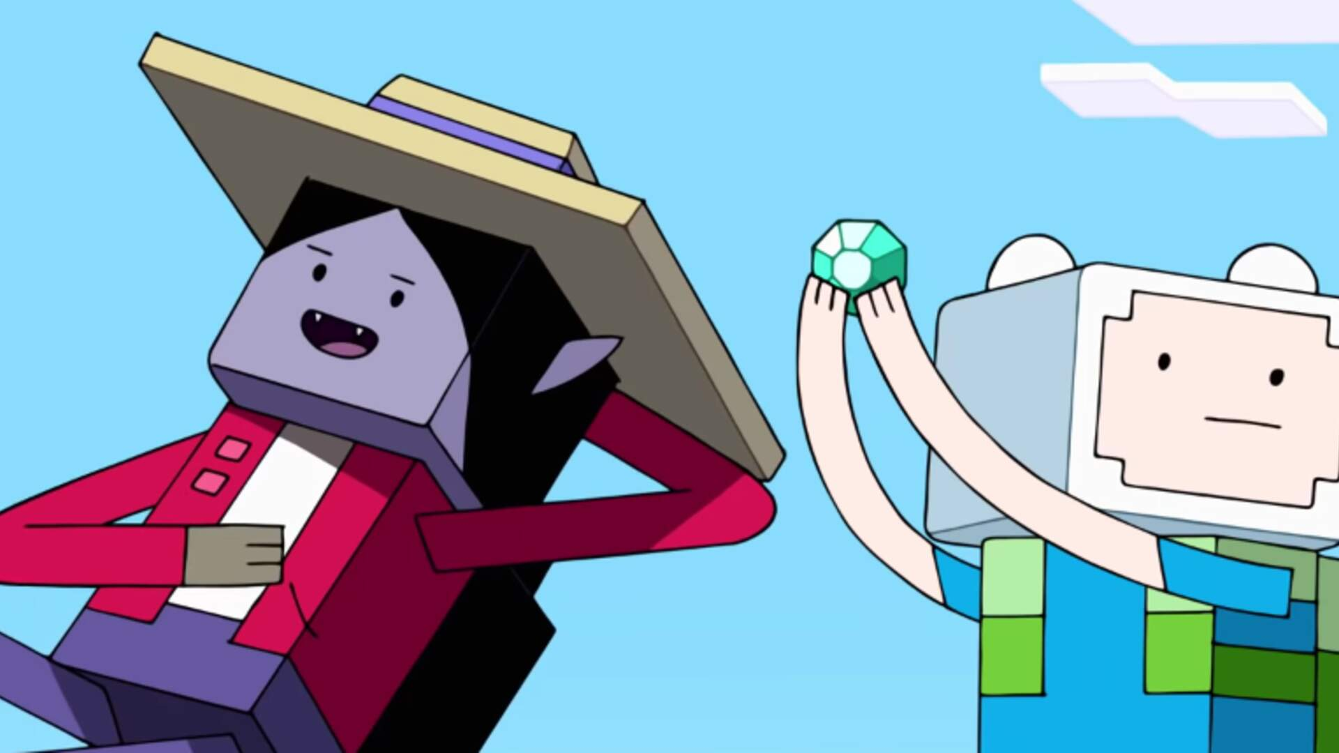 The Adventure Time Minecraft Crossover Episode Airs Tonight on Cartoon Network