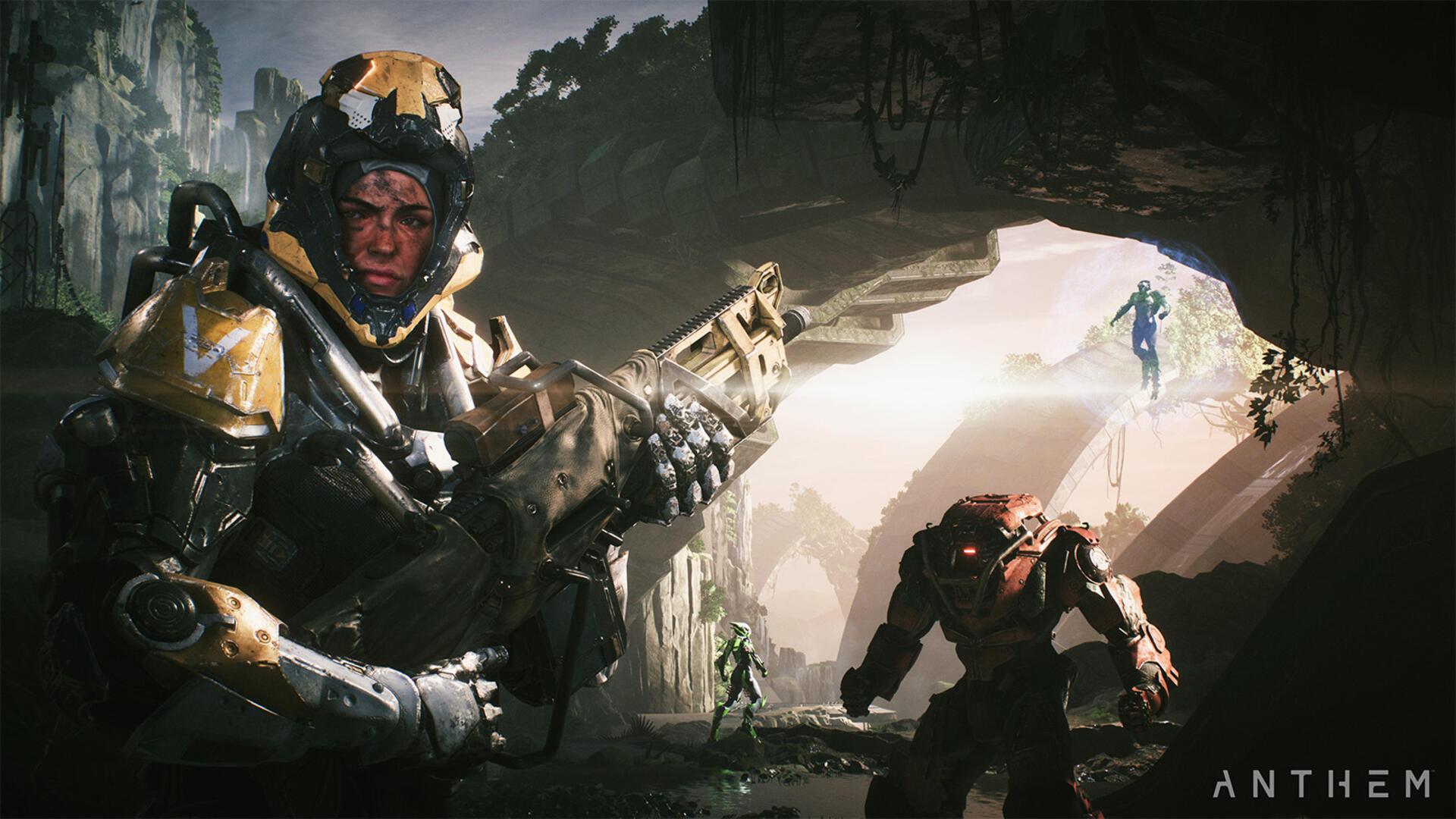 How to Switch Weapons in Anthem | USgamer