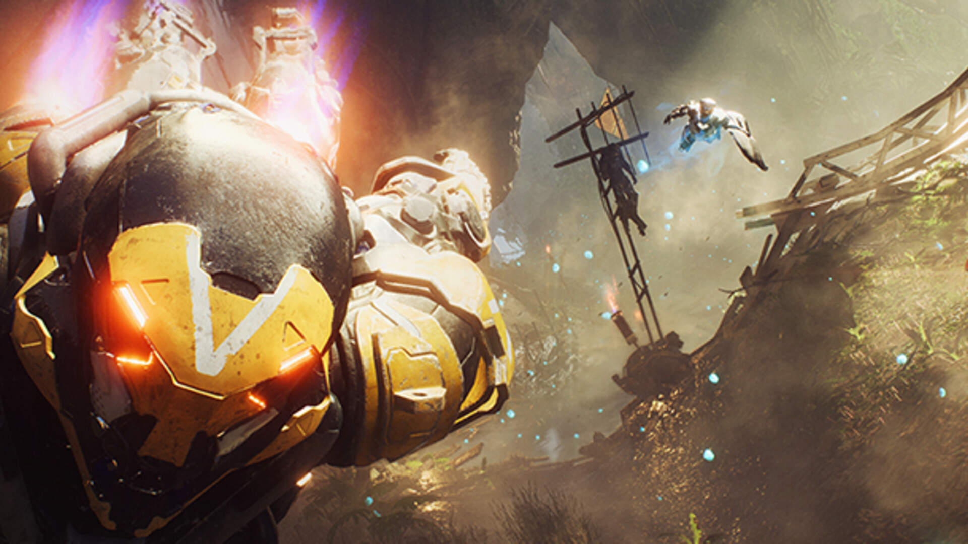 Anthem Graphics Analysis Shows the Frostbite Engine Being Taken to New Heights
