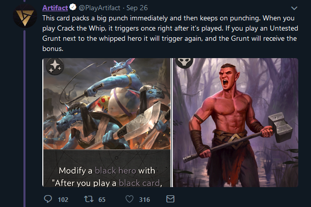 Valve Changes Artifact Card Name After Social Media Pointed Out Its