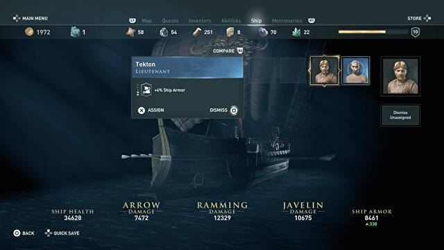 Assassin's Creed Odyssey Ship Guide - How to Upgrade Your ...