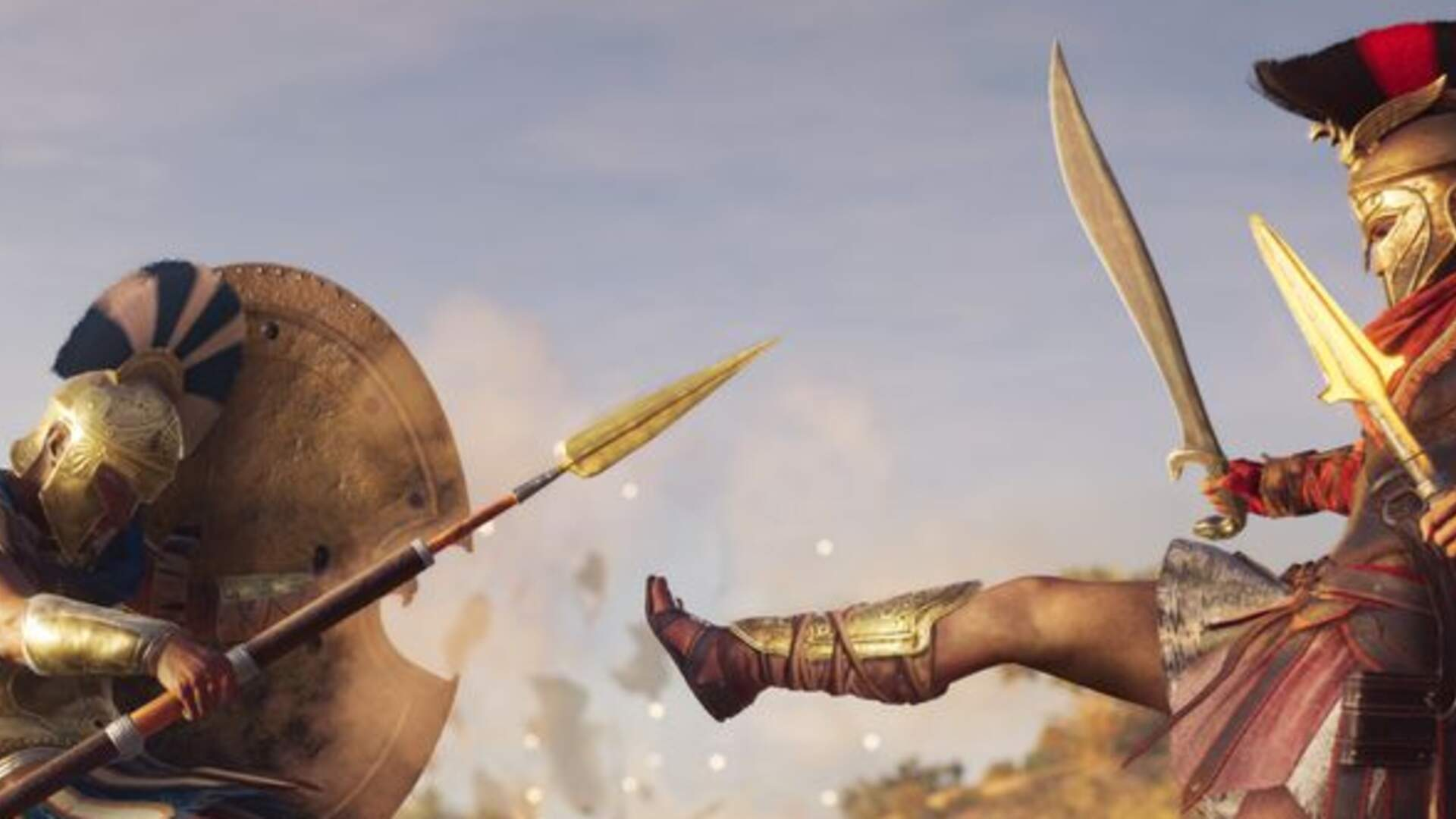 Our Favorite Videos of Assassin's Creed Odyssey's Spartan Kick: The Best Move in the Game