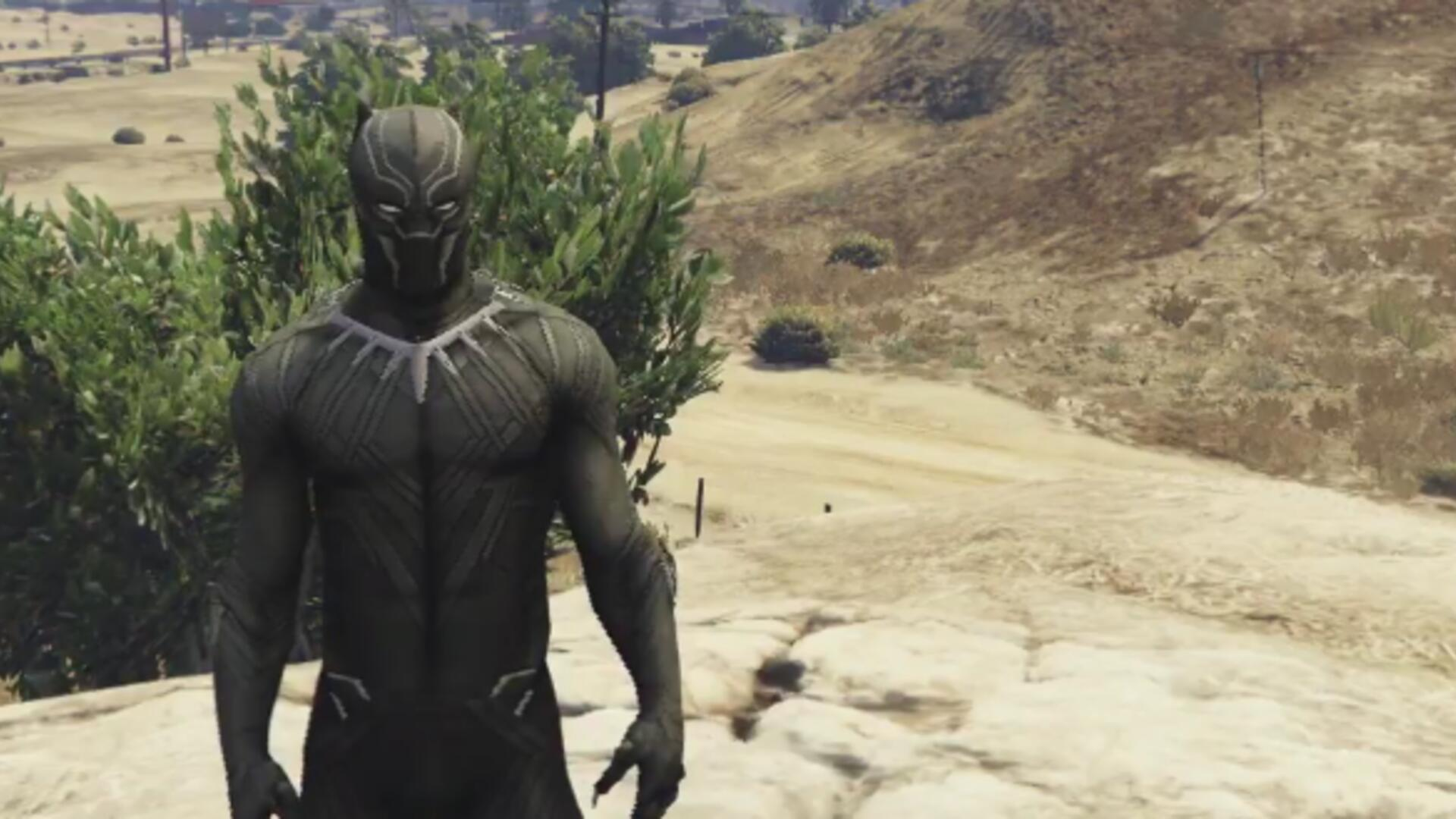 Wakanda Forever! Here's a Great Black Panther Mod for Grand Theft Auto V