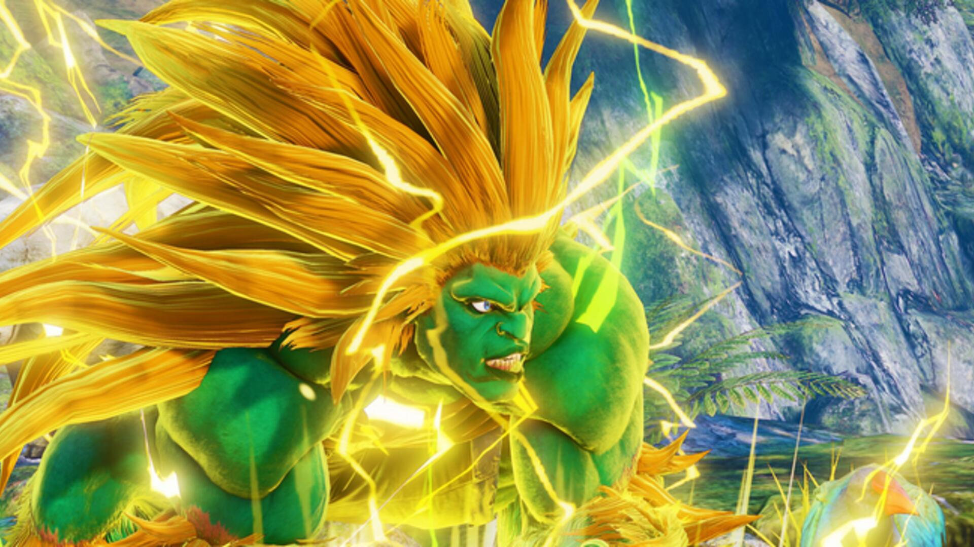 Blanka Storms Into Street Fighter 5: Arcade Edition in First
