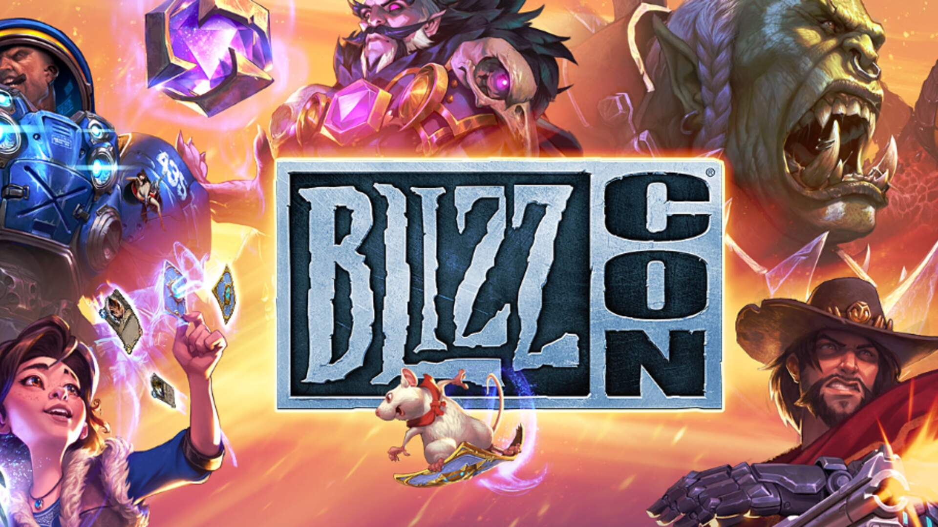 BlizzCon Virtual Ticket Available Now, Comes With Legendary Overwatch Skin Based on Diablo 3