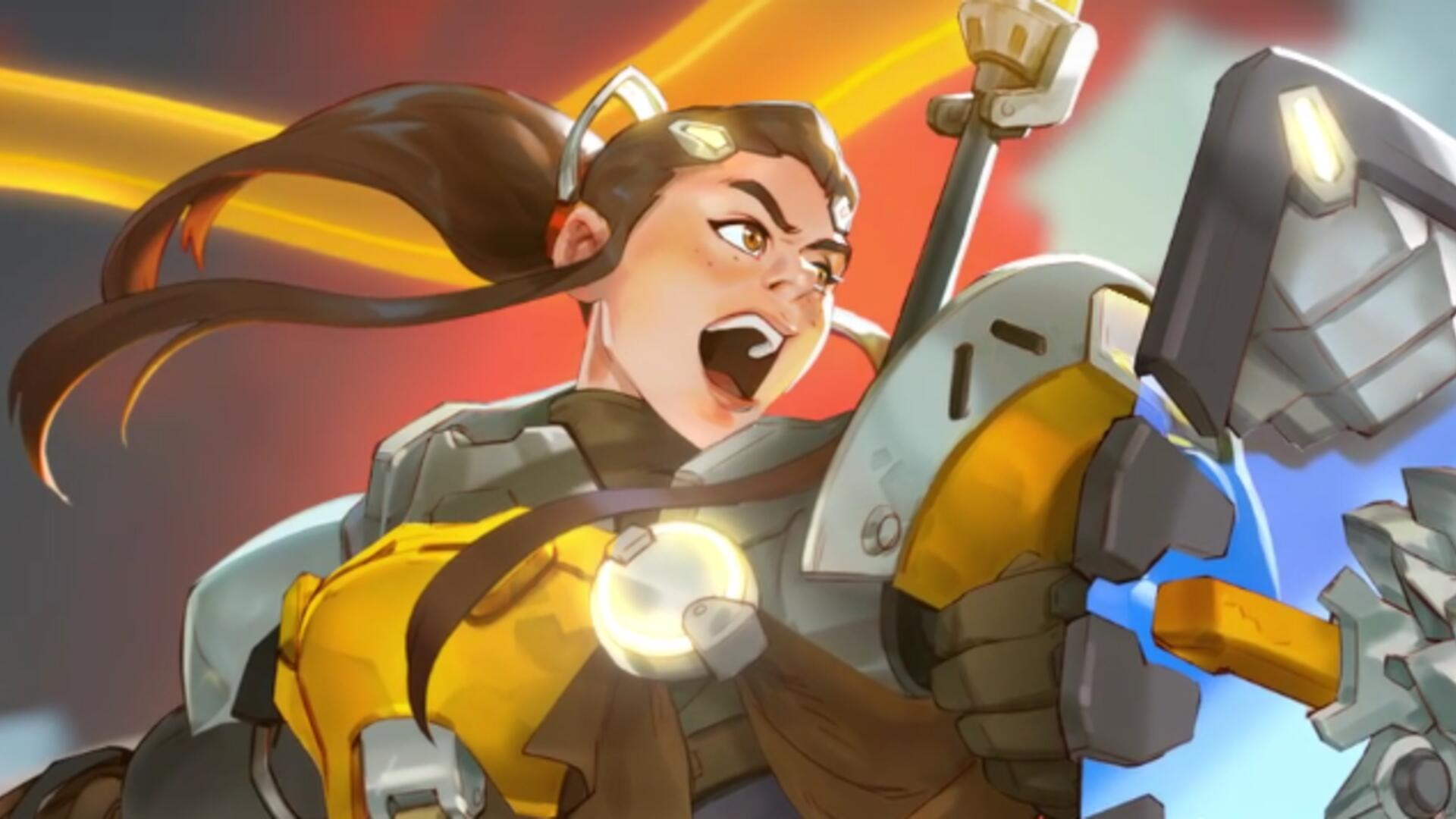Brigitte Gets new Skins on Overwatch PTR