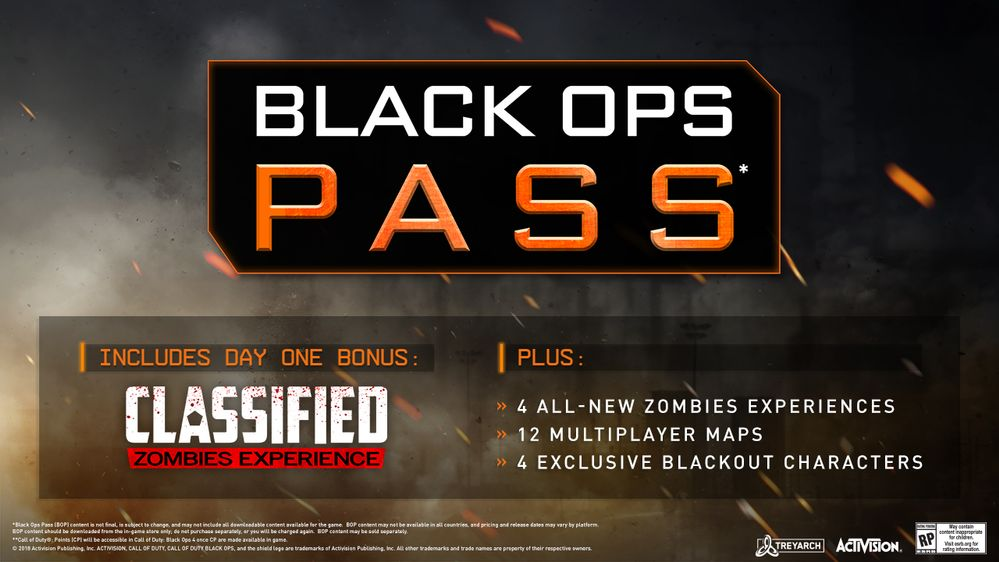 Cod Black Ops 4 Black Ops Pass Detailed Plus Deluxe Enhanced And Pro Editions Usgamer
