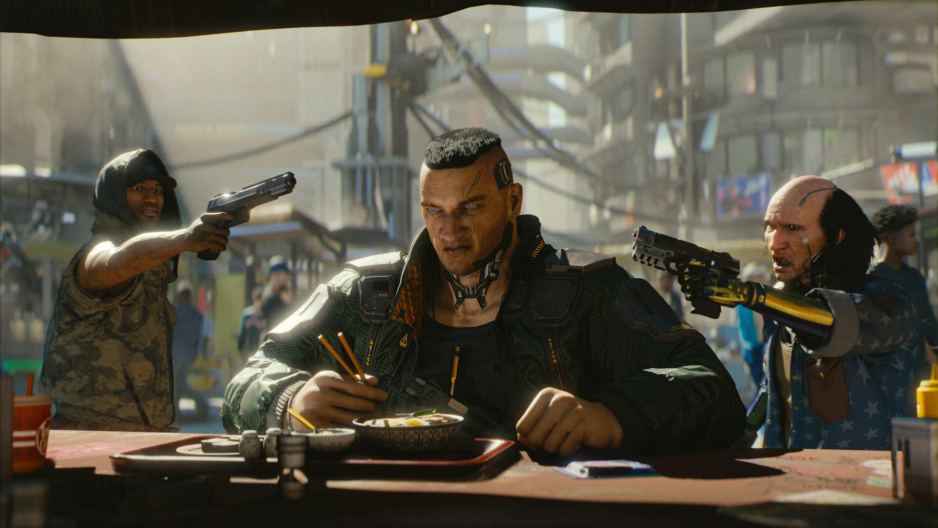 "CD Projekt Red on Cyberpunk 2077 Controversies: ""There are a Lot of People [...] That Really Care About These Subjects and We Want to Do it Right"""
