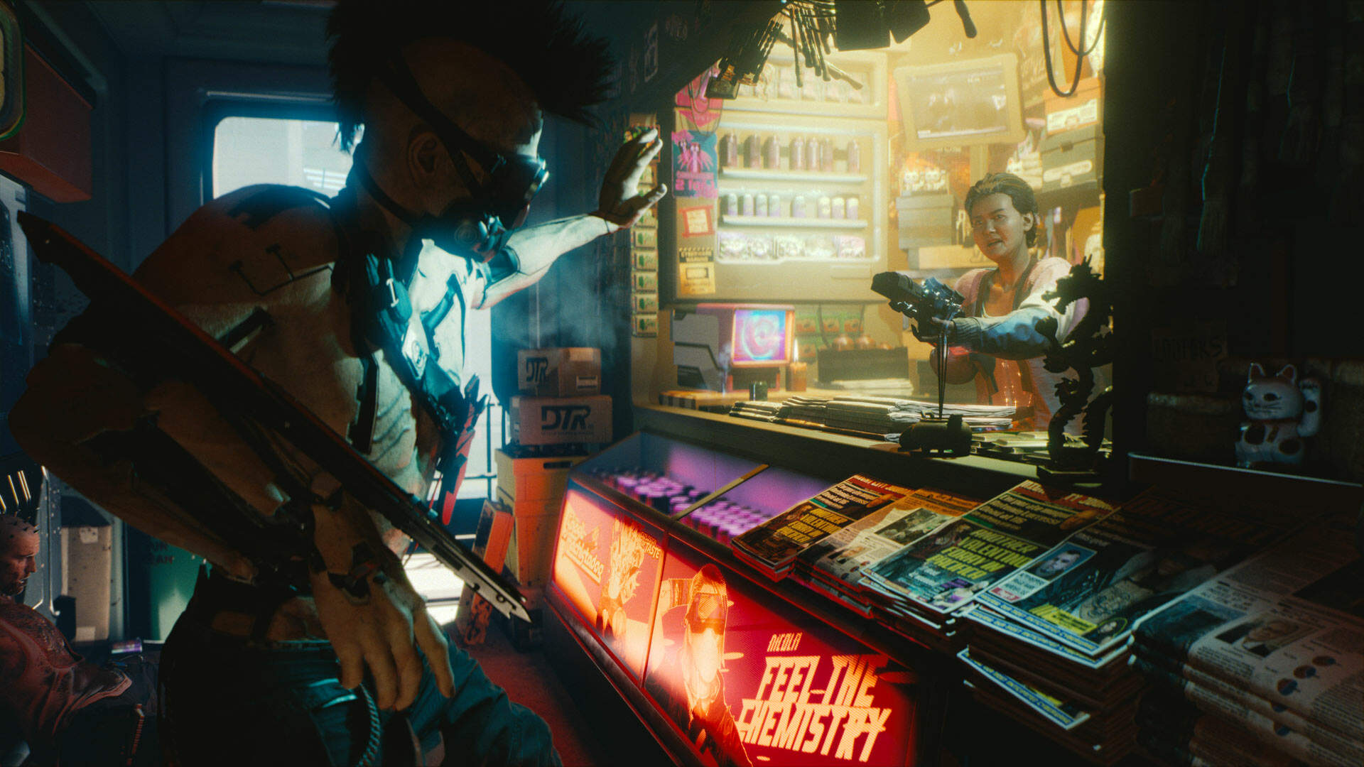 Cyberpunk 2077 Will Let You Create Transgender Characters