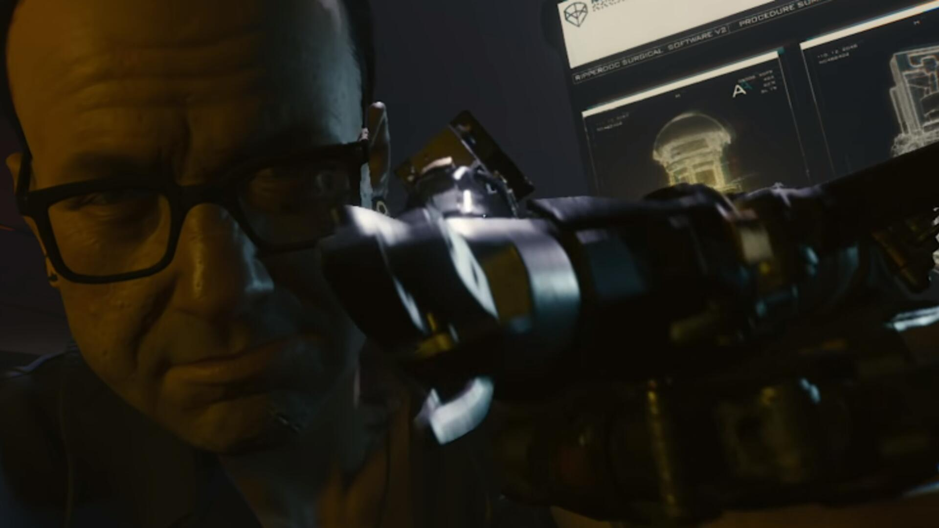 I Wasn't Sold on Cyberpunk 2077 Being a FPS Until the Augmentation Scene in the Gameplay Reveal