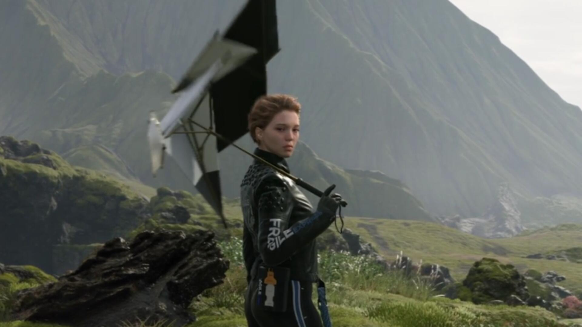There's Still More Weirdness (and Lea Seydoux) in Death Stranding's E3 Gameplay Trailer