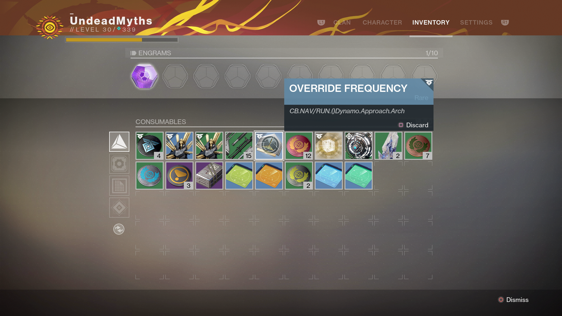 Destiny 2 Sleeper Nodes Guide How To Use The Override Frequency To