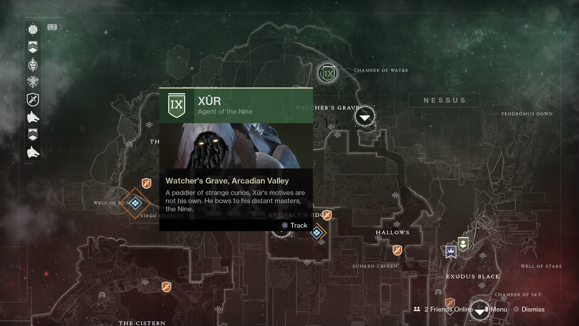 How to find Xûr in Destiny 2: Details on Exotics, location ...