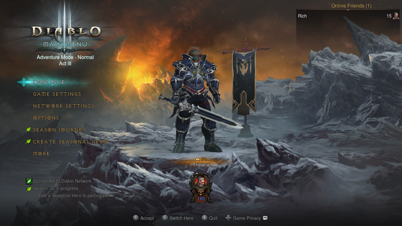 Diablo 3 Requires A Nintendo Switch Online Subscription For Online Co Op Lets You Save Characters To The Cloud Usgamer