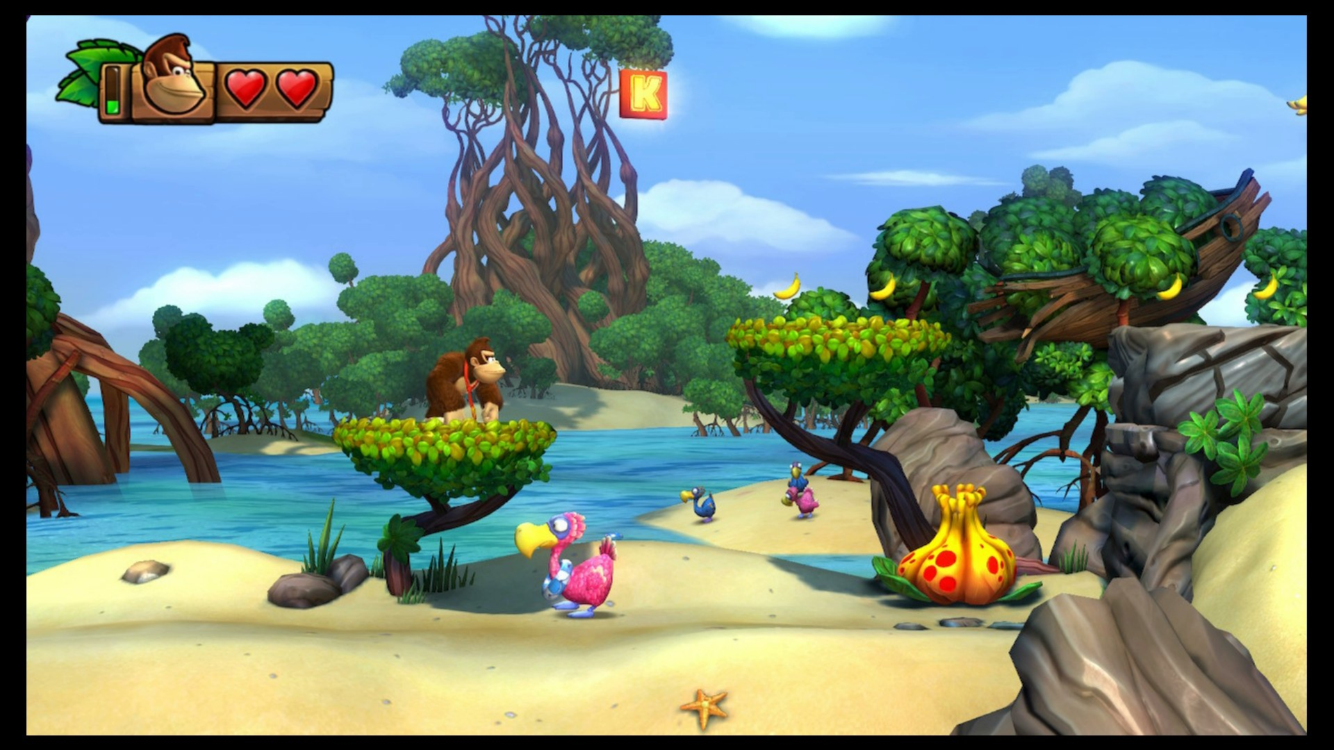 Donkey Kong Country Tropical Freeze Guide Kong Letters Secret