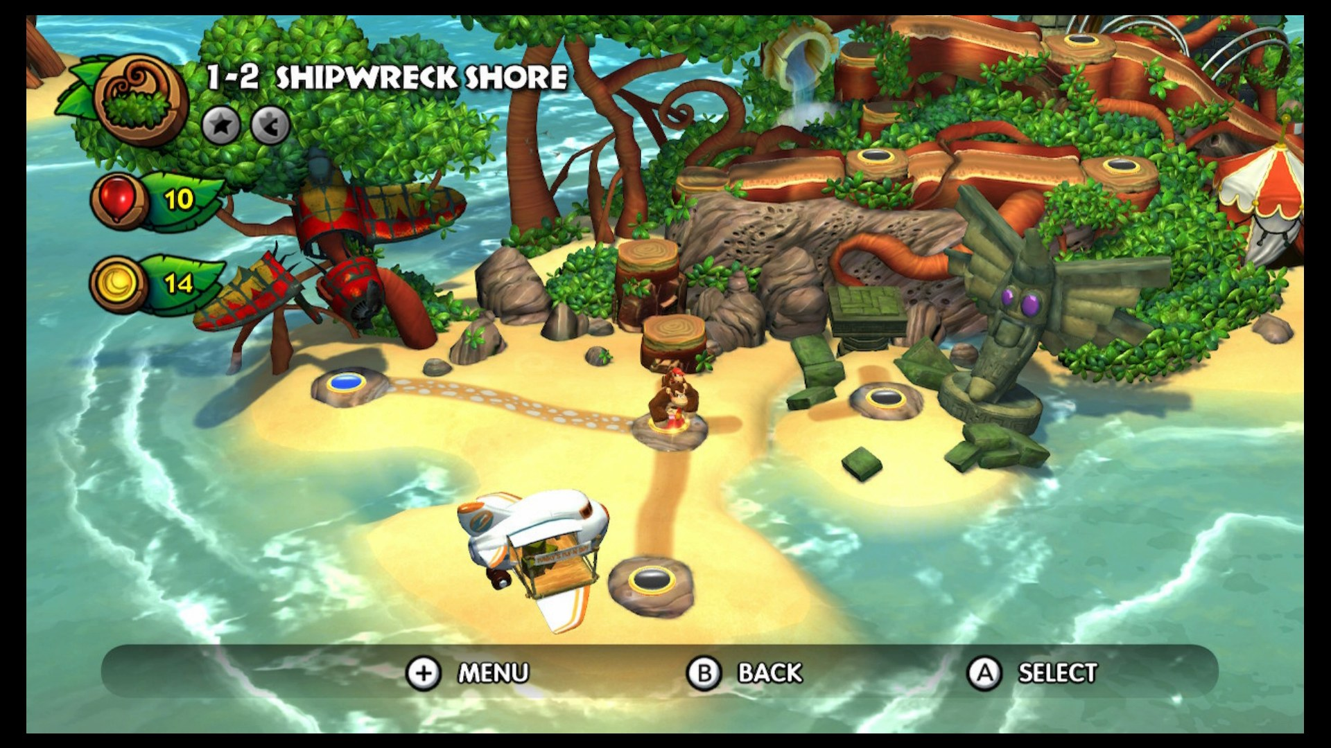 Donkey Kong Country Tropical Freeze Shipwreck Shore Guide How