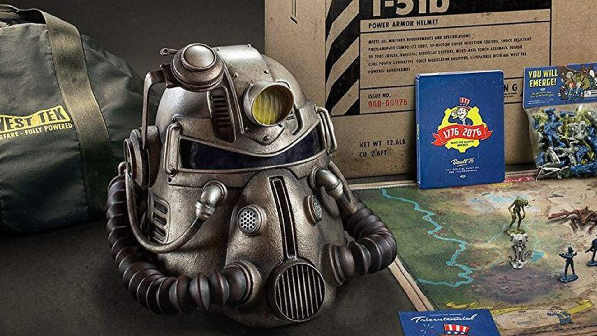 "Update: Bethesda Says ""Sorry"" for Cheap Fallout 76 Bag in $200 Collector's Edition"