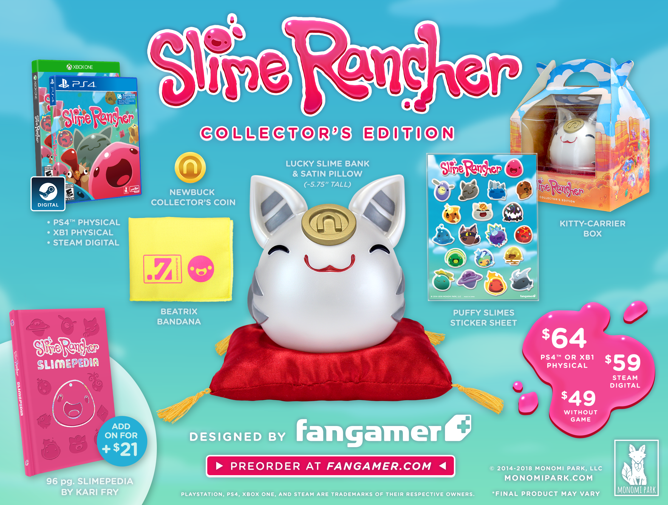 Indie Hit Slime Rancher Gets Physical Collector's Edition