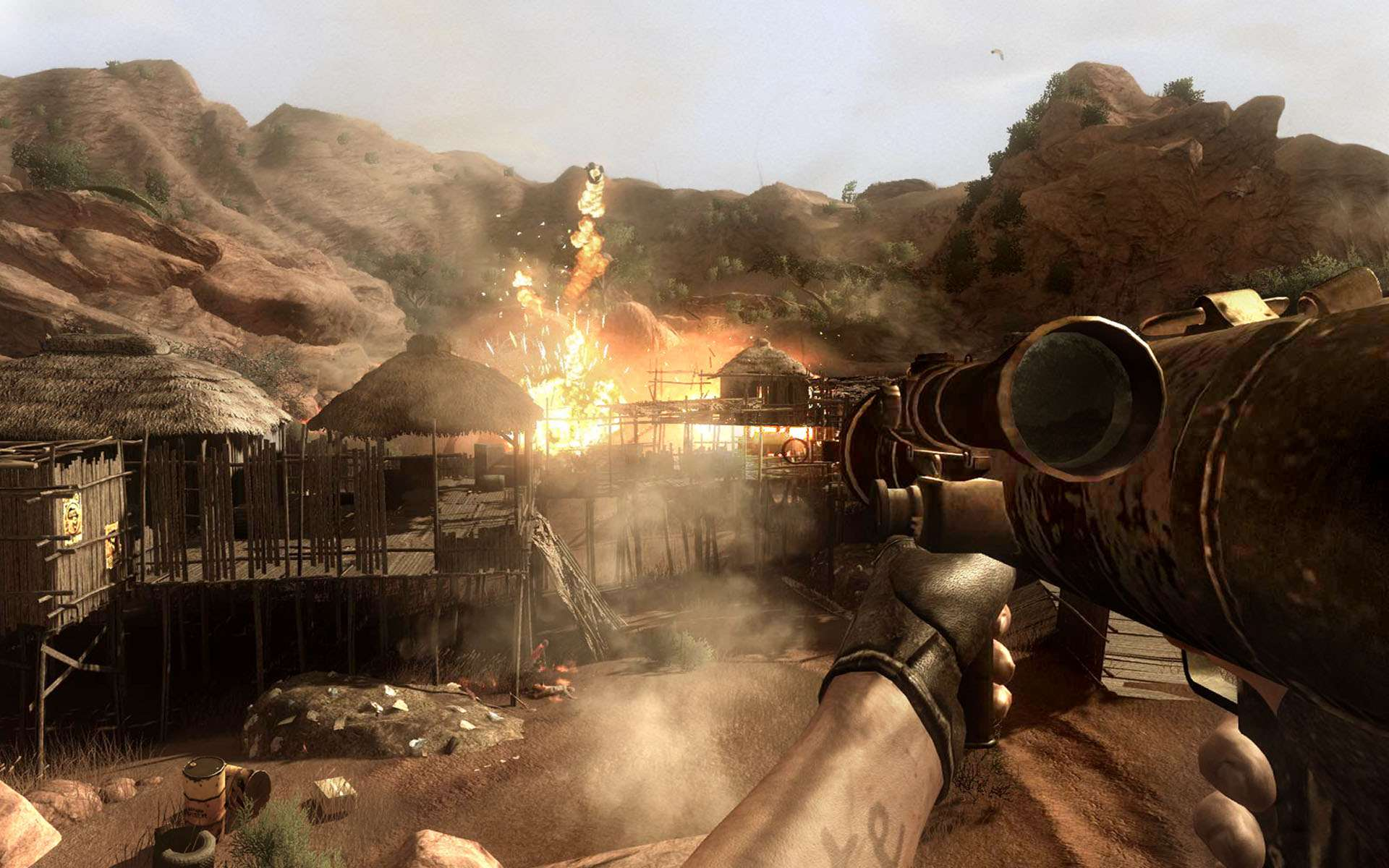 Communication on this topic: How to Survive Far Cry 2, how-to-survive-far-cry-2/
