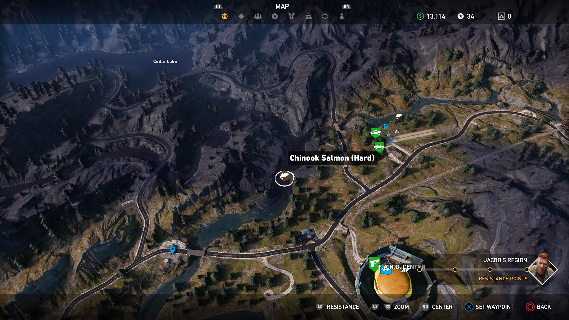 Far Cry 5 Fishing How To Fish Fishing Perks And Challenges Fish Locations How To Beat Fishing Records Usgamer