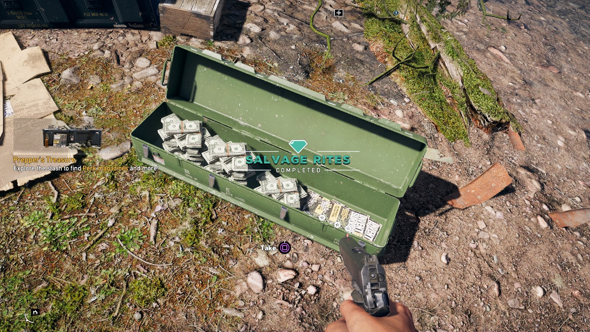 Man Cave Quest Far Cry 5 : Far cry prepper stash locations all stashes in