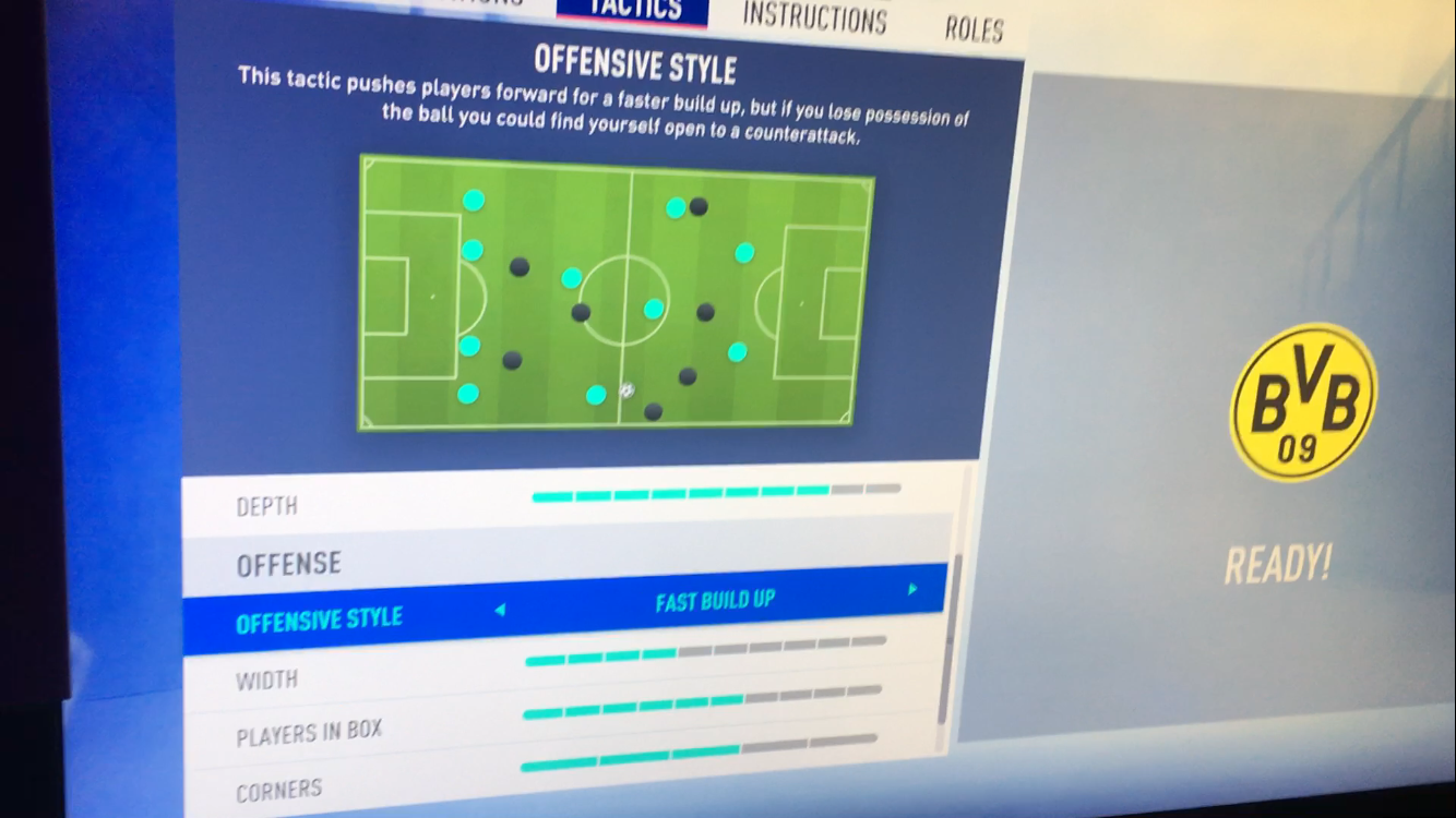 Breaking Down the New FIFA 19 Tactics Screen | USgamer