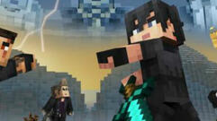The Minecraft Final Fantasy XV Skin Pack Turns the Beautiful Boys into Blocky Boys