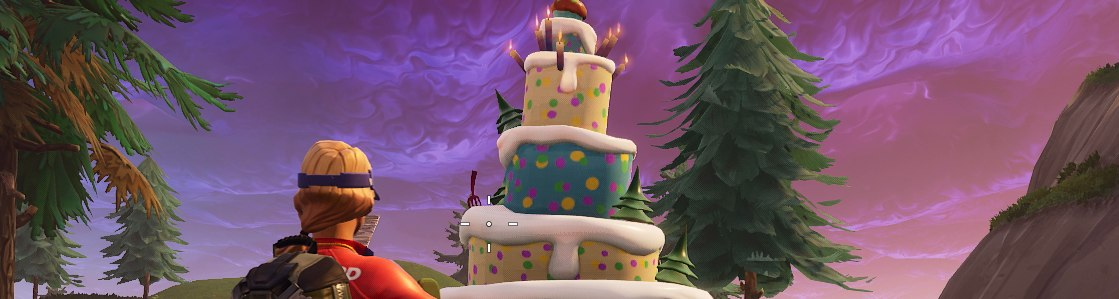 Fortnite Birthday Cake Locations Dance In Front Of Cakes Challenge Ends Tomorrow