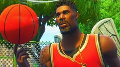 Fortnite Basketball Courts - Score a Basket on Different Hoops Week 2 Challenge