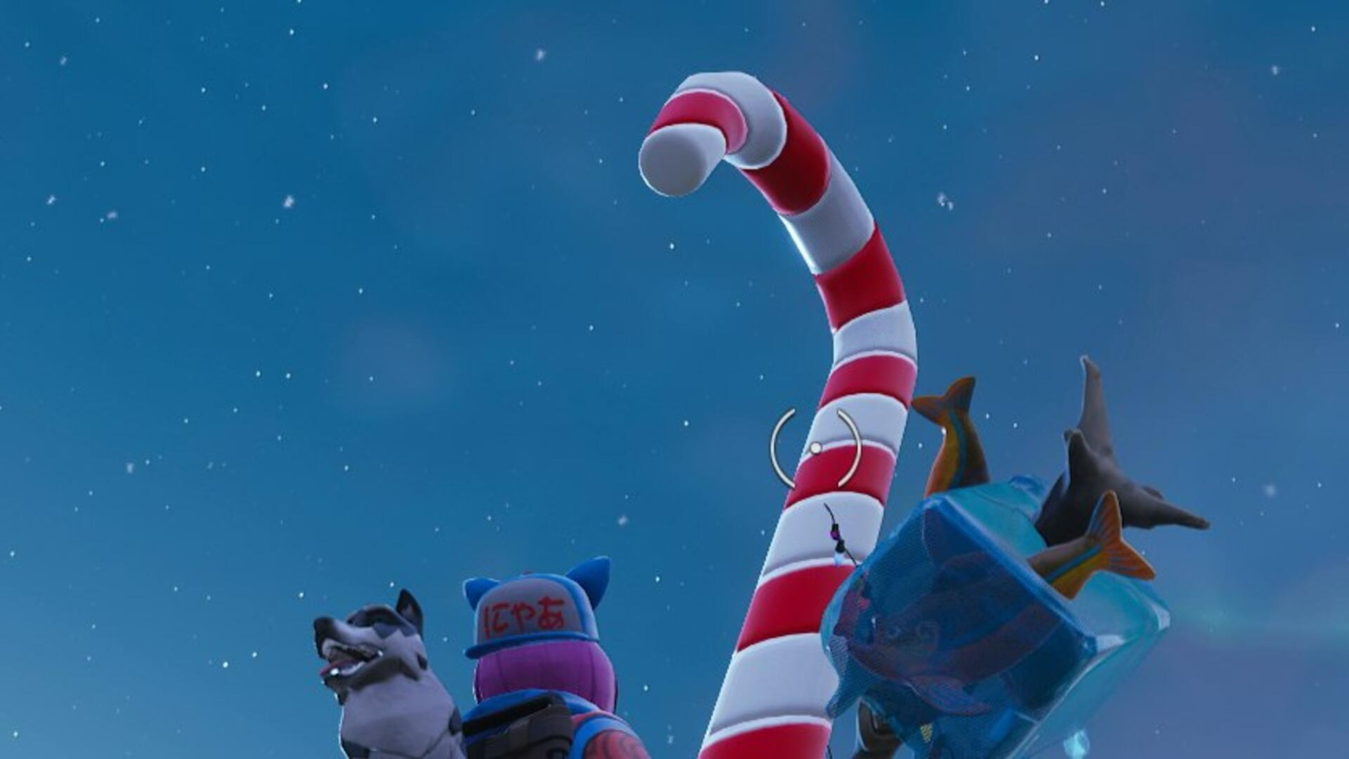 Fortnite Candy Cane Locations - Where to Find All the Giant Candy Cane Locations on the Fortnite Map