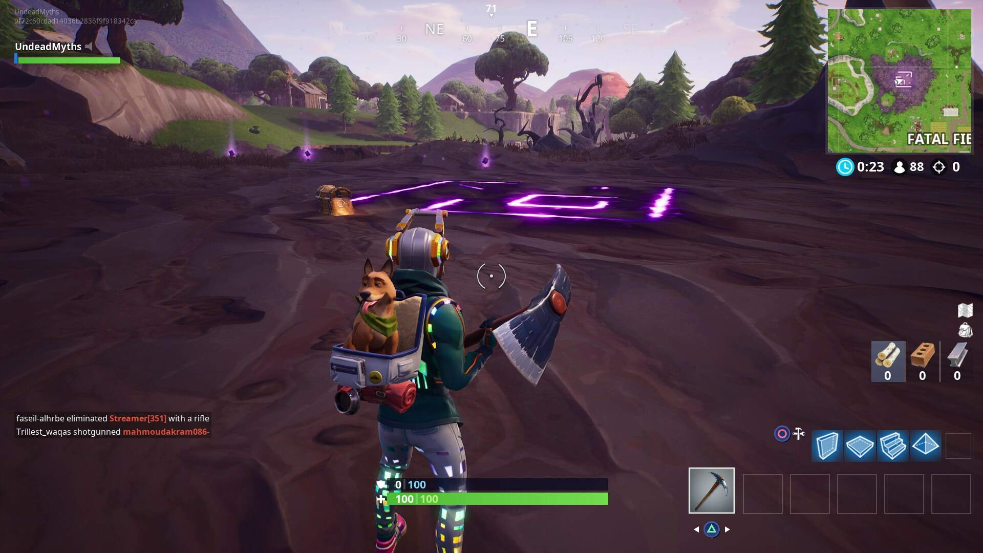 Fortnite Corrupted Area Locations