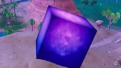 The Fortnite Cube Has Turned Loot Lake Into a Shiny Trampoline as Season 6 Approaches