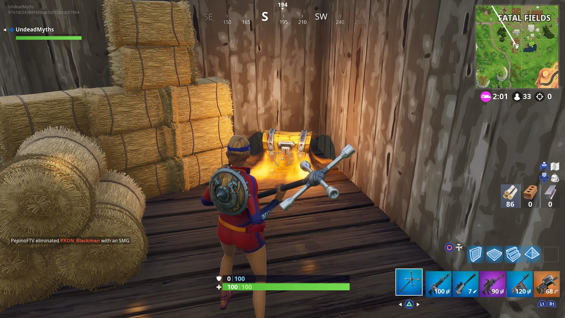 Fortnite Fatal Fields Chest Locations - How to Search Chests in Fatal Fields, Week 3 Challenge