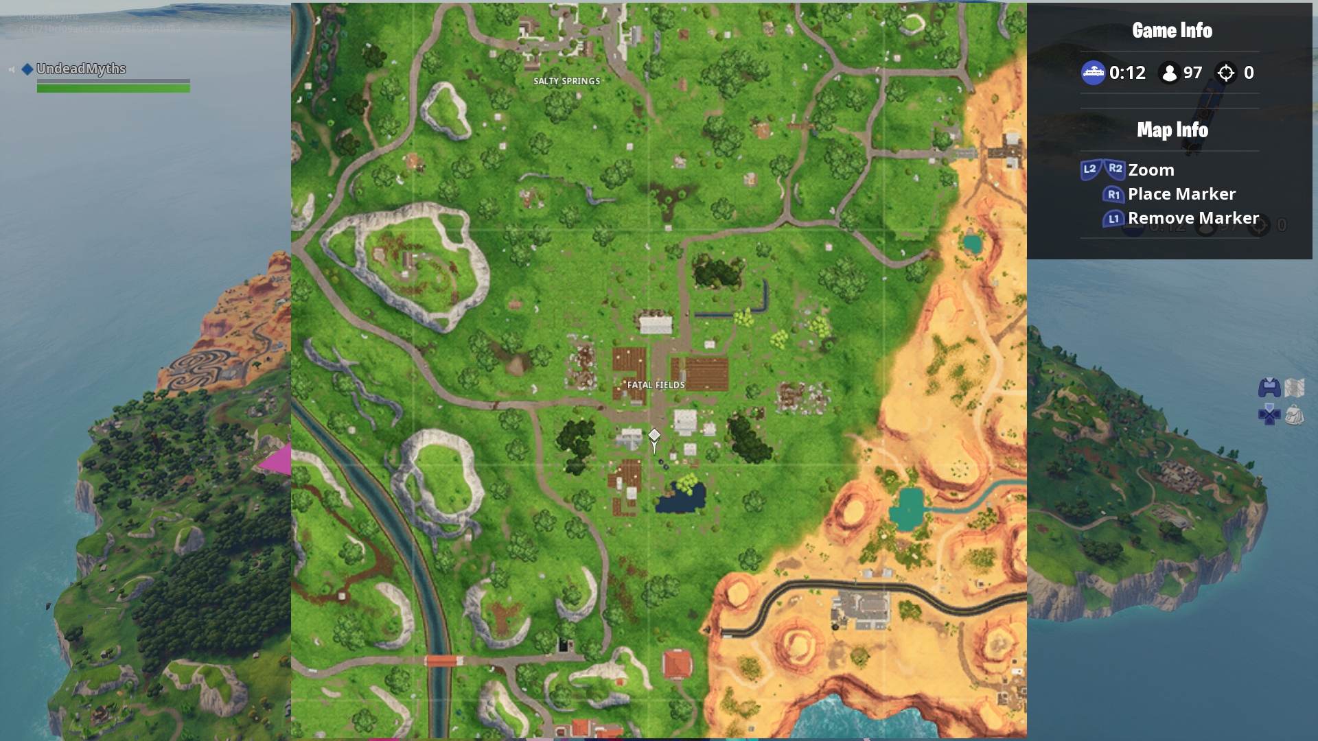 Fortnite Fatal Fields Chest Locations How To Search Chests In