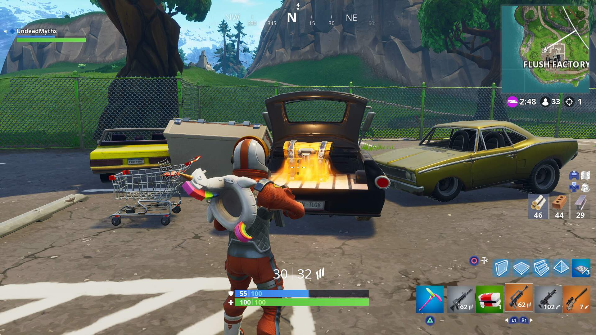 Fortnite Flush Factory Chest Locations - How to Search Chests in Flush Factory to Find All Chests