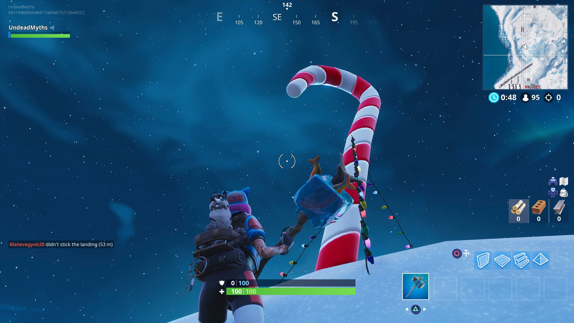Fortnite Candy Cane Locations Where To Find All The Giant Candy