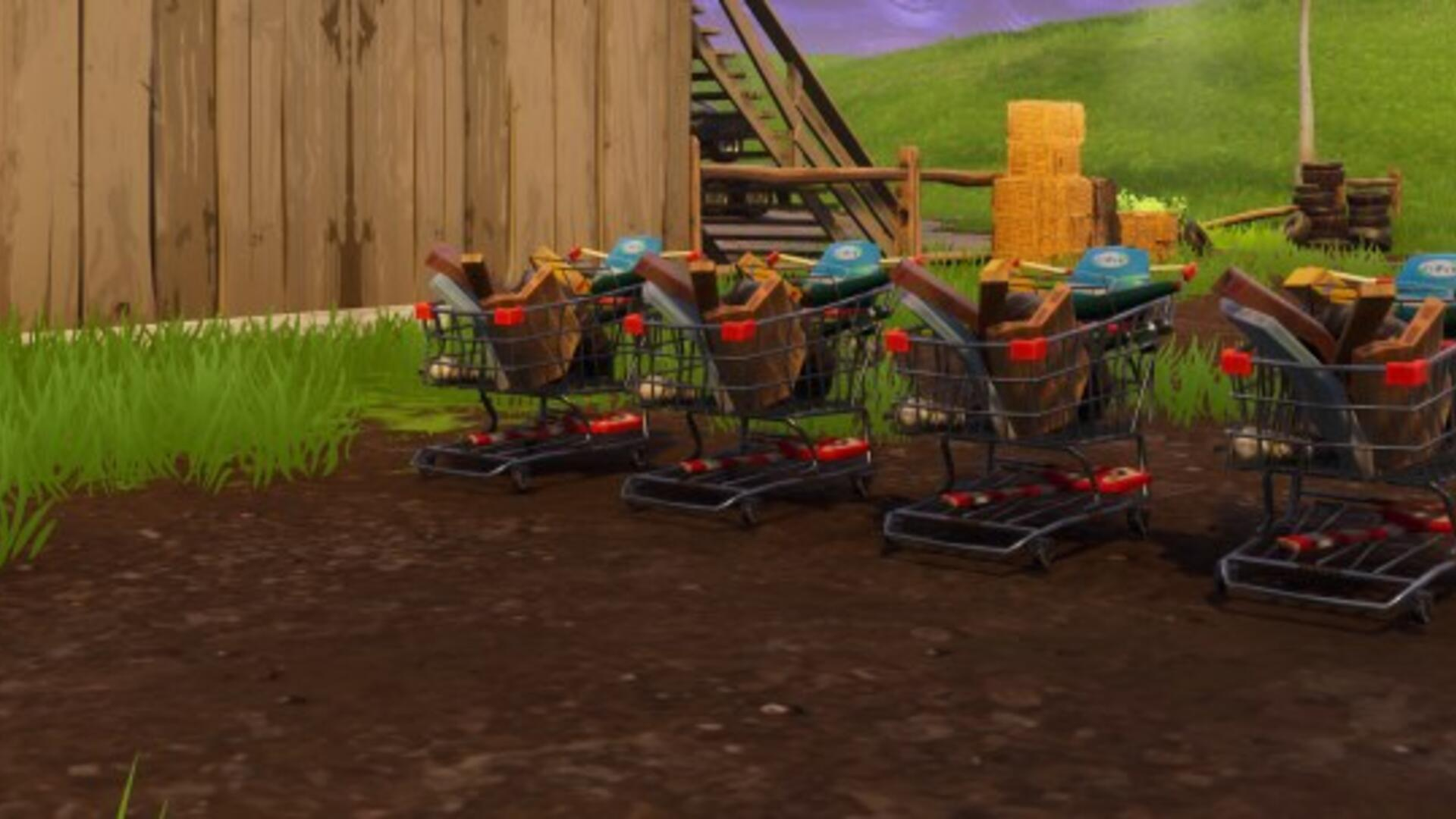 Fortnite Shopping Cart Out Now