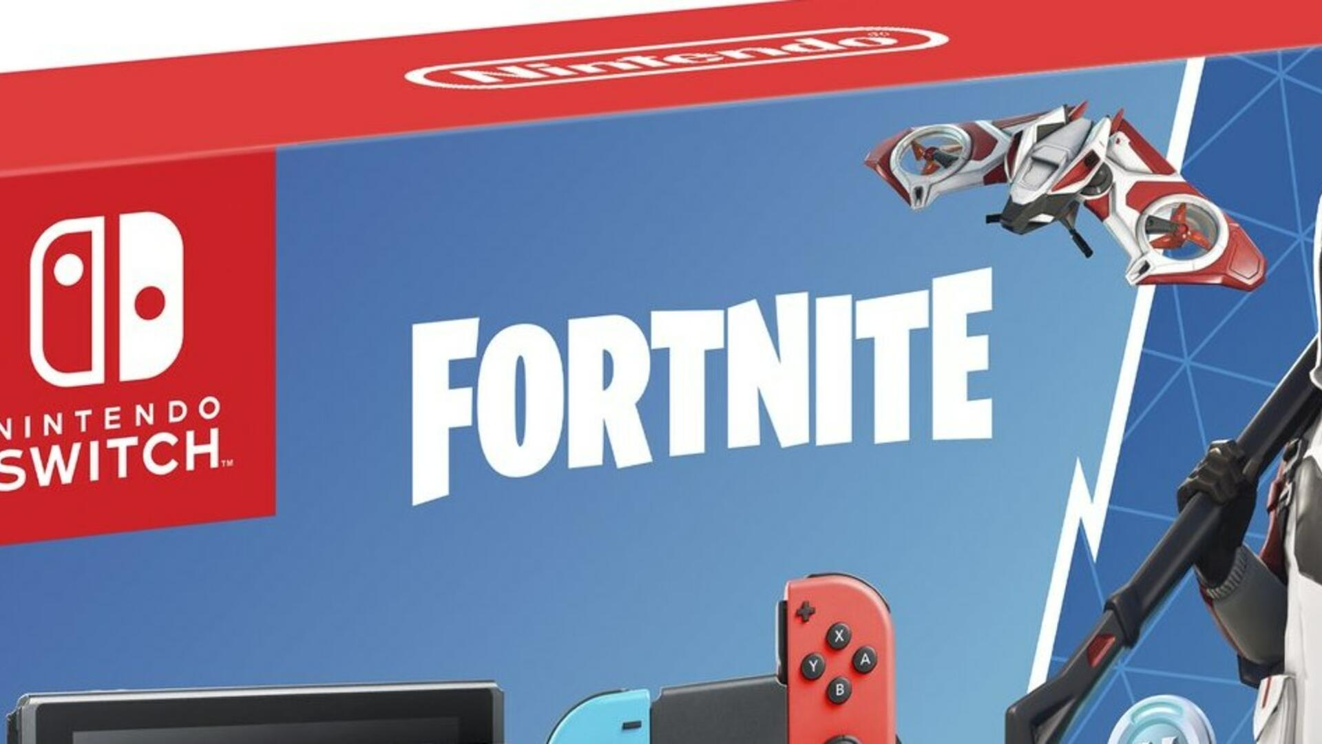 There's a New Fortnite Switch Bundle, With Exclusive In-Game Gear
