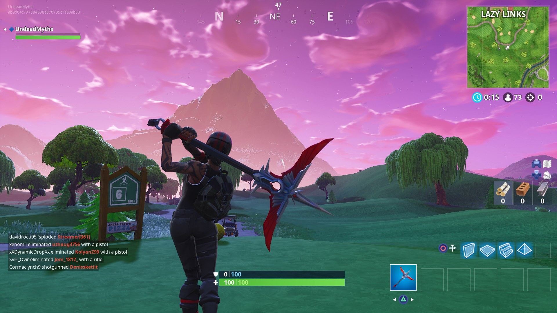 if you need help completing any of the other fortnite week 5 challenges you can always head over to our junk junction chests guide for the location of every - fortnite golf club axe
