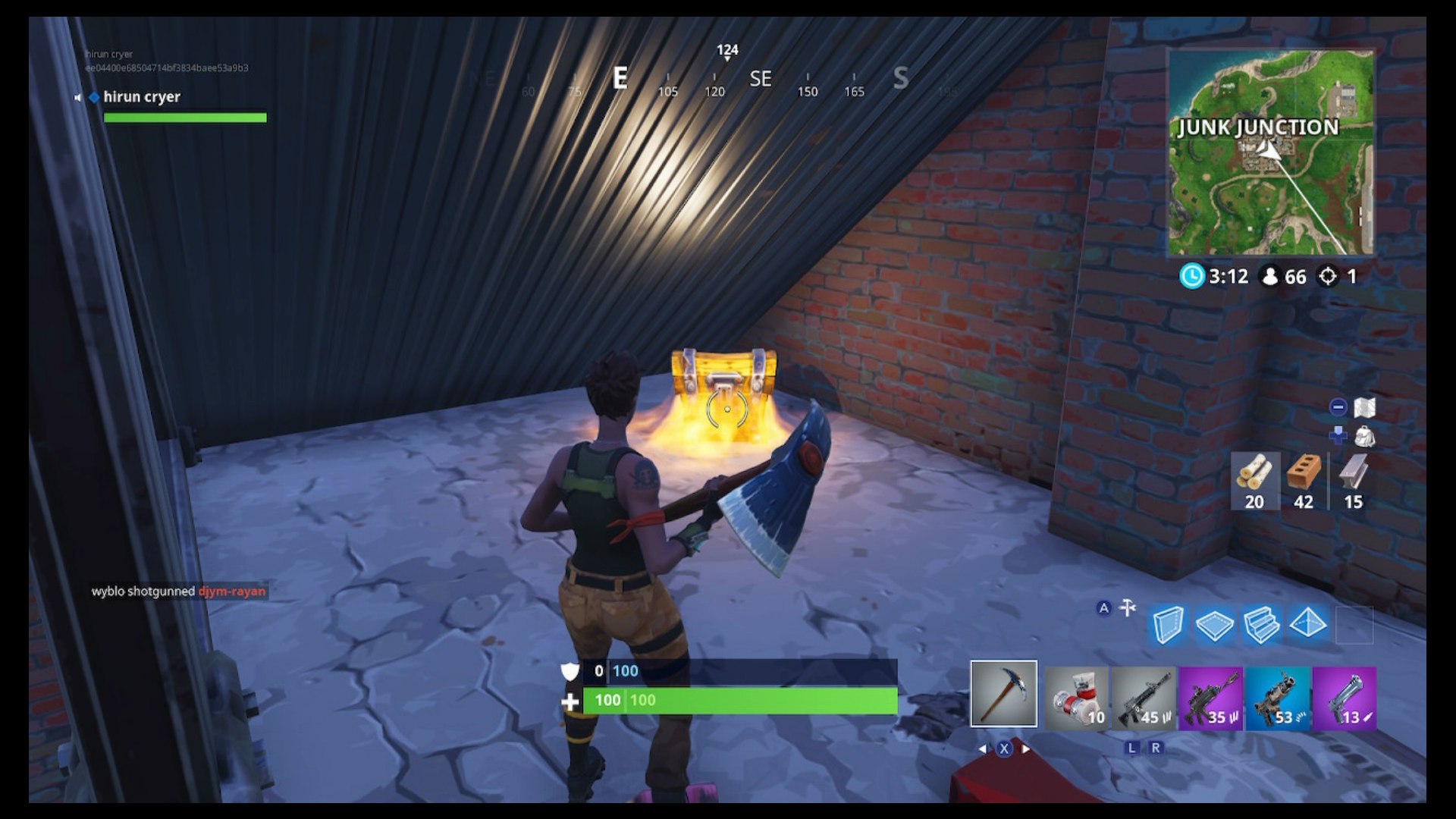 Fortnite Junk Junction Chest Locations Search Chests In