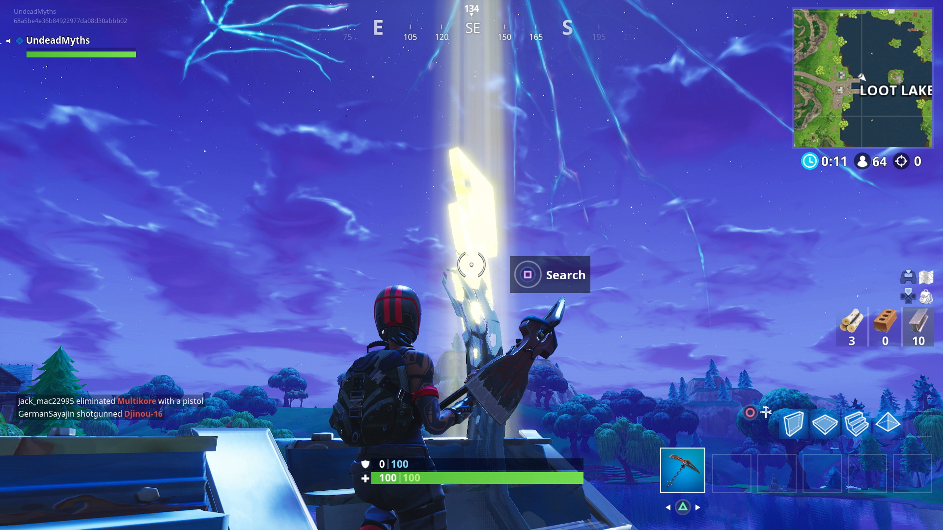 Fortnite Lightning Bolts All Lightning Bolt Locations Search Floating Lightning Bolts In Fortnite Usgamer