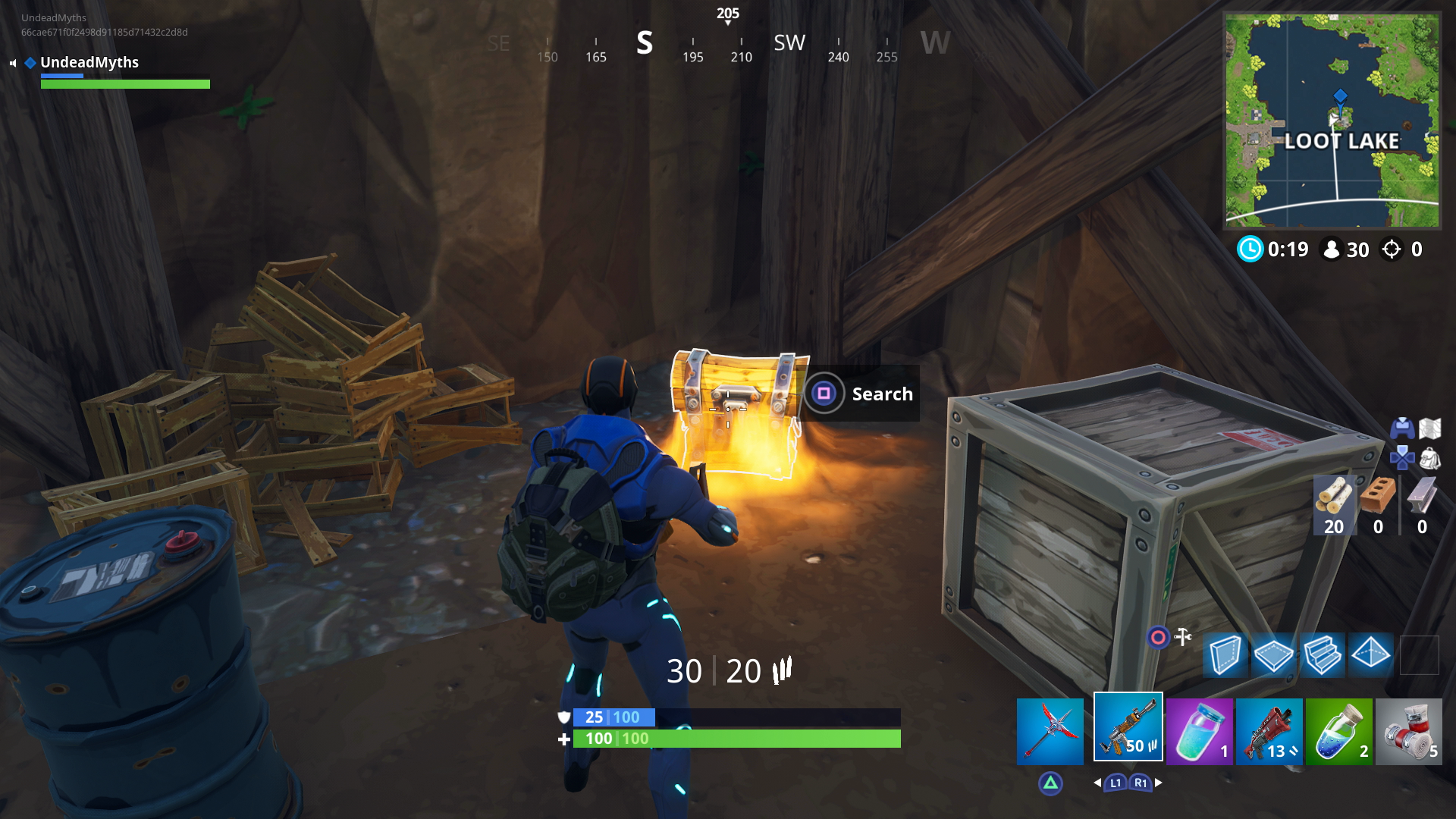 Fortnite Loot Lake Chests All Chest Locations How To