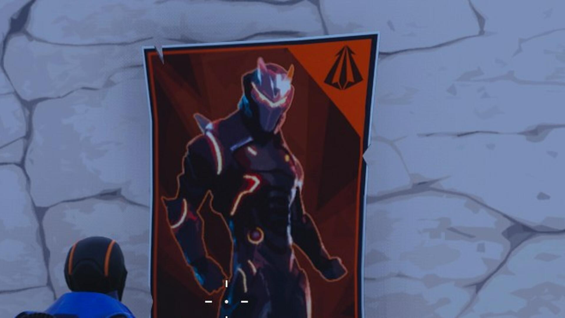 Fortnite Poster Locations - Spray over Carbide or Omega Posters