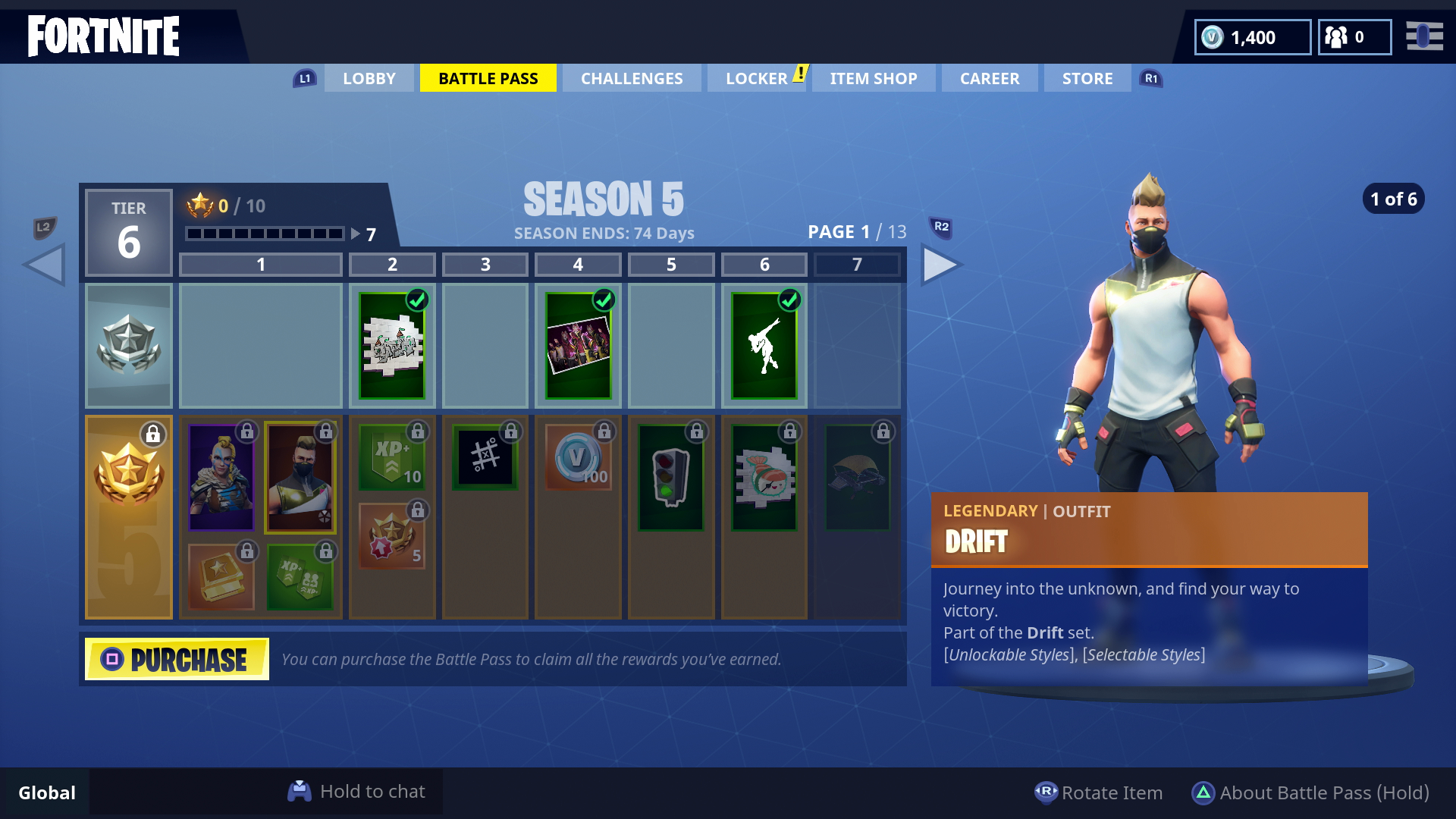 Fortnite Season 5 Battle Pass Cost Challenges Worlds Collide