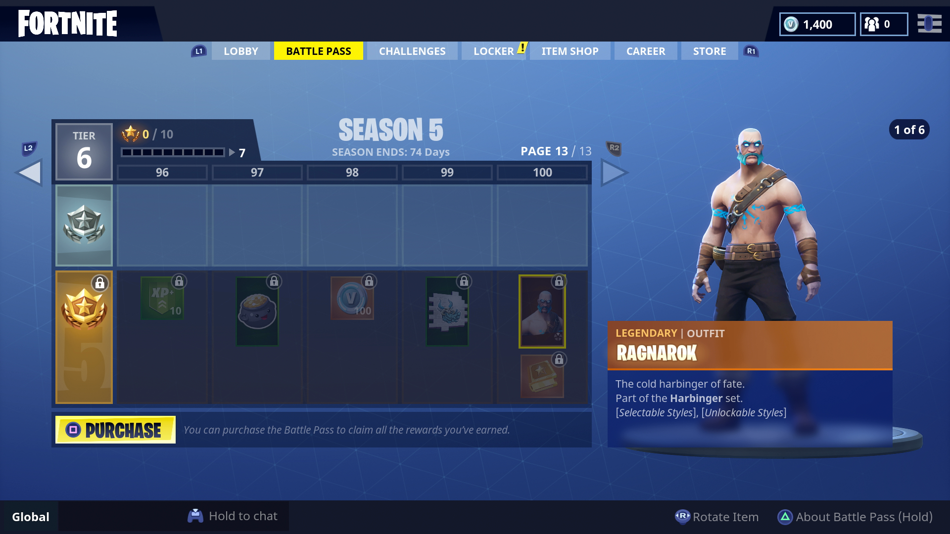 Fortnite Season 5 Skins All The New Battle Pass Skins Including